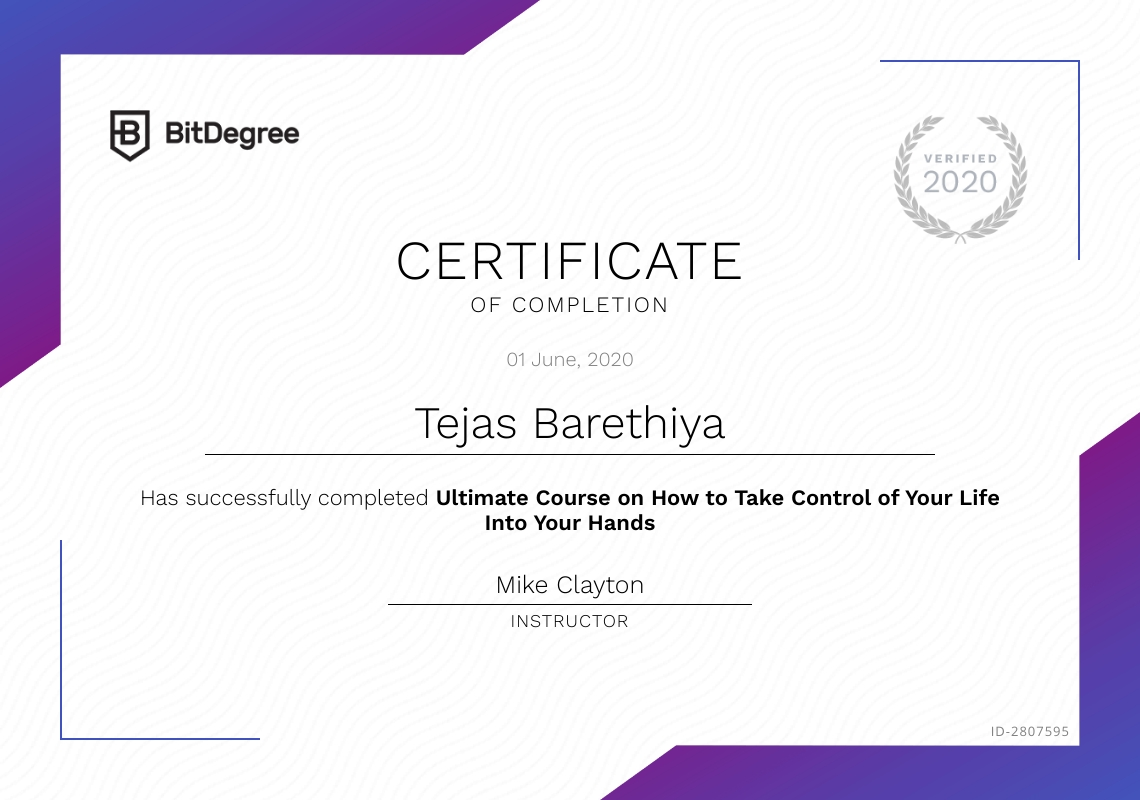 featured certificate