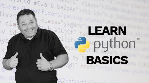 Learn Python Basics: Up To Date Python Course For Beginners